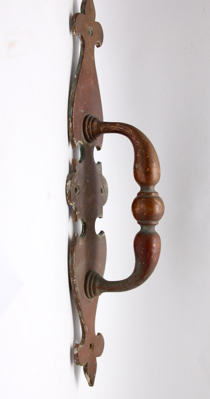 Antique Colonial Bronze Door Pull Handle