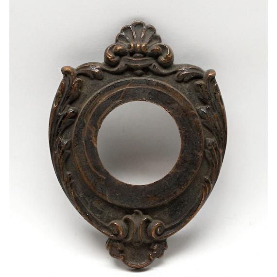 image 0 - Victorian Bronze Antique Door Bell Cover Etsy