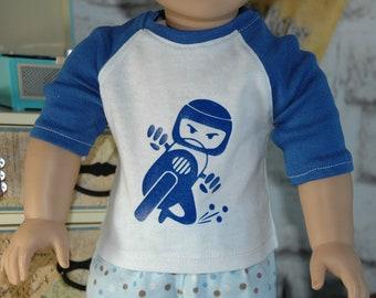 American, made, girl, boy, Bitty Baby, doll, graphic tee, shirt, 15 inch , 18 inch doll