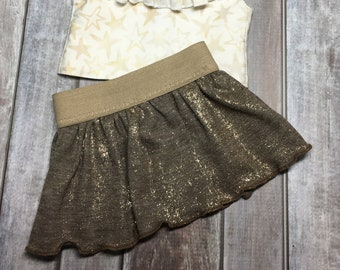 american, made, girl, doll, fits, 18 inch doll, skirt, dress