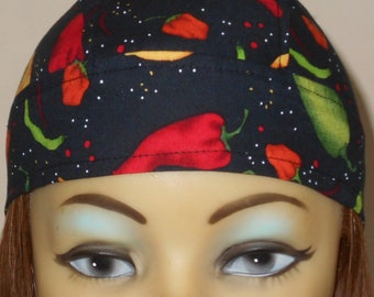 37dee9715cb Bright Peppers skull cap