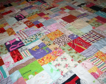 it/'s like a hug Custom Made memory Quilts from your treasured clothes from children or a loved one that is no longer with you