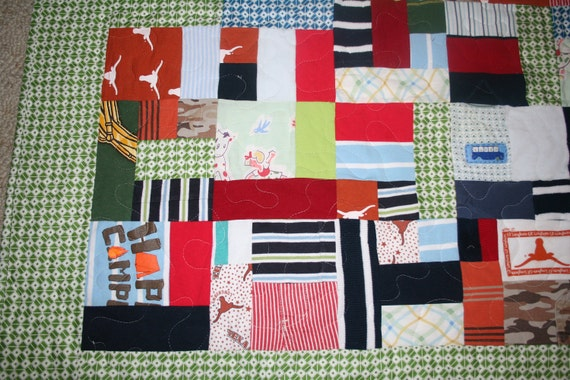Custom Made Quilts Sentimental Clothing Takes Up Space Etsy