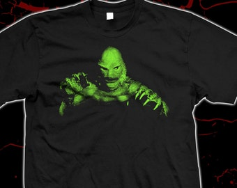 Creature from the Black Lagoon - Pre-shrunk, hand screened 100% cotton t-shirt