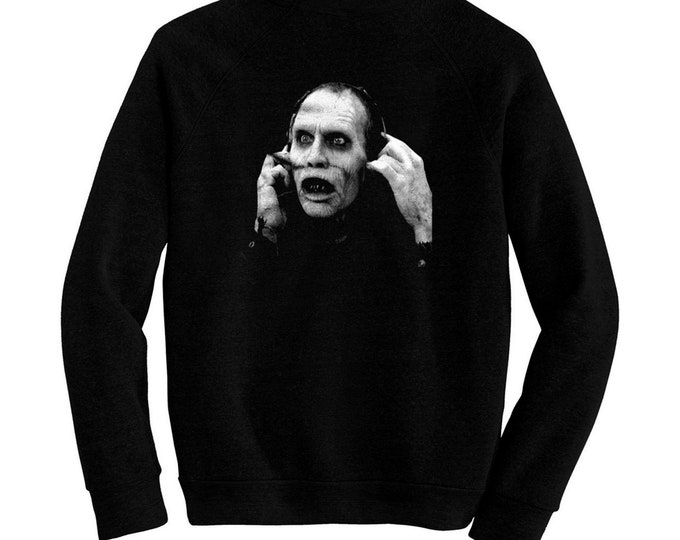 Bub The Zombie from Day Of The Dead - Pre-shrunk, hand screened ultra soft 80/20 cotton/poly sweatshirt -