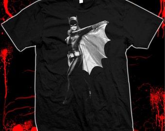 Batgirl - Yvonne Craig - Pre-shrunk, hand screened 100% cotton t-shirt
