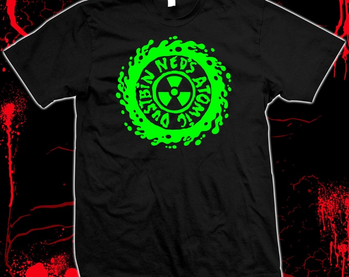 Ned's Atomic Dustbin - Grebo - Pre-shrunk, hand screened 100% cotton t-shirt