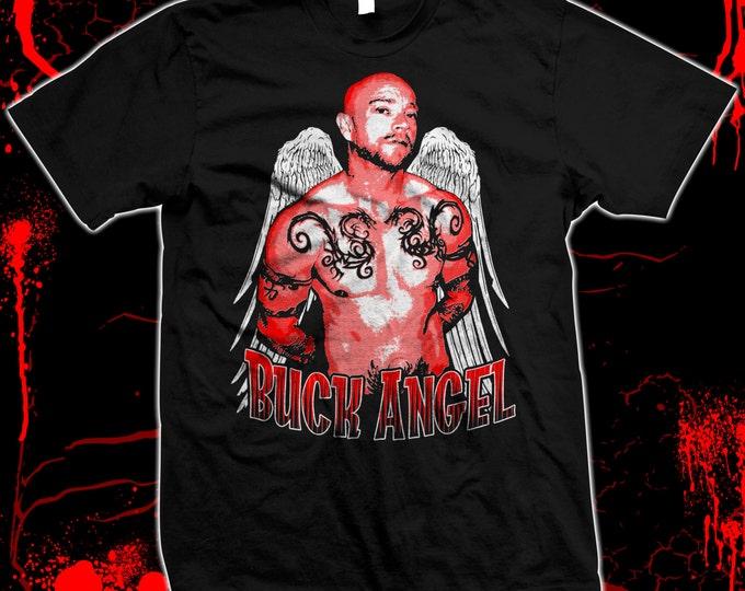 Buck Angel - trans wo-man porn star - LGBT - Hand-screened, Pre-shrunk 100% cotton t-shirt