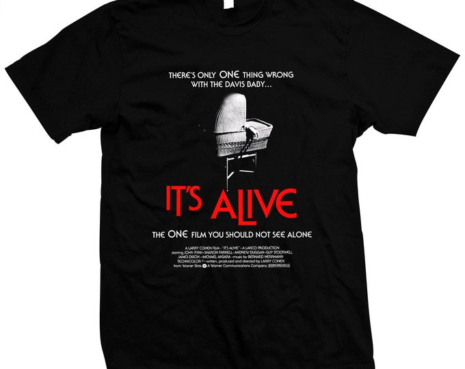 It's Alive - Larry Cohen - Hand screened, Pre-shrunk 100% cotton t-shirt
