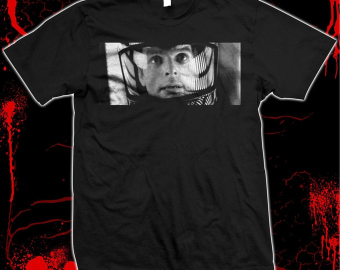 2001: A Space Odyssey - Astronaut David Bowman - hand silk screened 100% cotton t-shirt