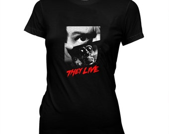 3b1ed9a2866478 They Live - John Carpenter - Rowdy Roddy Piper - Hand screened