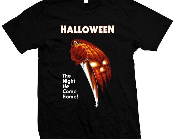 Halloween - Jamie Lee Curtis - Hand made 100% silk screened t-shirt