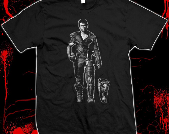 Mad Max - Road Warrior - Mel Gibson - Pre-shrunk, hand screened 100% cotton t-shirt