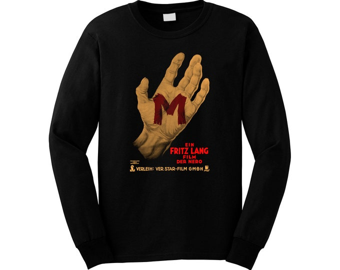 Fritz Lang's M - Peter Lorre - Pre-shrunk, hand screened ultra soft 80/20 cotton/poly sweatshirt