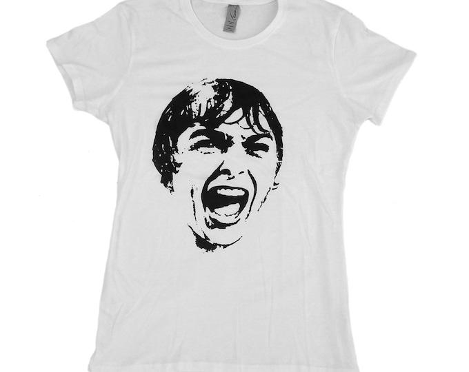 Screaming Janet Leigh - Psycho - Women's hand screened, Pre-shrunk 100% cotton t-shirt