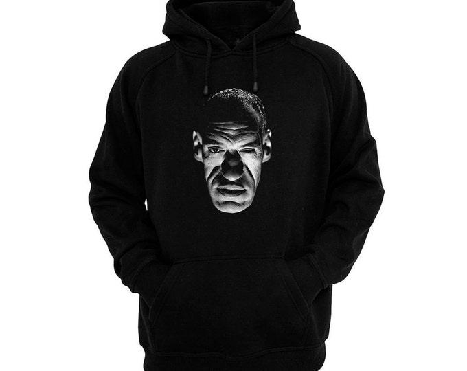 Rondo Hatton - The Brute Man - Hand silk-screened, pre-shrunk cotton blend pullover hoodie
