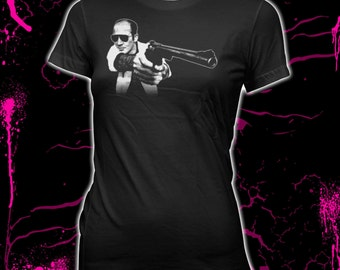 Hunter S. Thompson - Gonzo - Women's Pre-shrunk, hand screened 100% cotton t-shirt