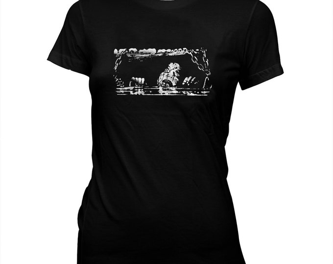 Evil Dead - Bruce Campbell - Sam Raimi - Women's Pre-shrunk, hand screened 100% cotton t-shirt
