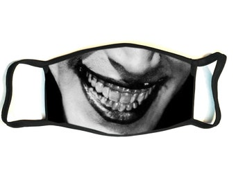 The Man Who Laughs - Conrad Veidt - Secure Fit, Hand Sewn, Reusable Multi-layered Cotton Face Mask