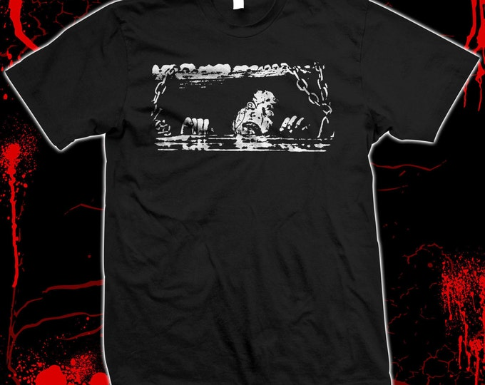 Evil Dead - Bruce Campbell - Sam Raimi - Hand screened, Pre-shrunk 100% cotton t-shirt