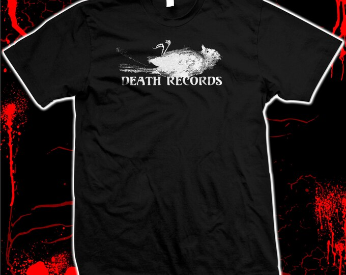 Death Records - Phantom Of The Paradise - Brian Depalma - Hand screened, Pre-shrunk 100% cotton t-shirt