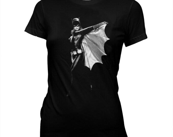 Batgirl - Yvonne Craig - Women's Pre-shrunk, hand screened 100% cotton t-shirt