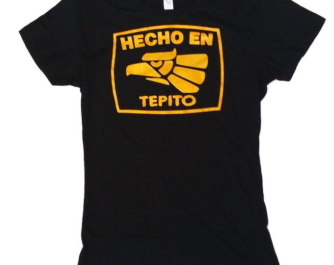 Hecho En Tepito - Women's hand screened, Pre-shrunk 100% Cotton t-shirt - Ciudad de México