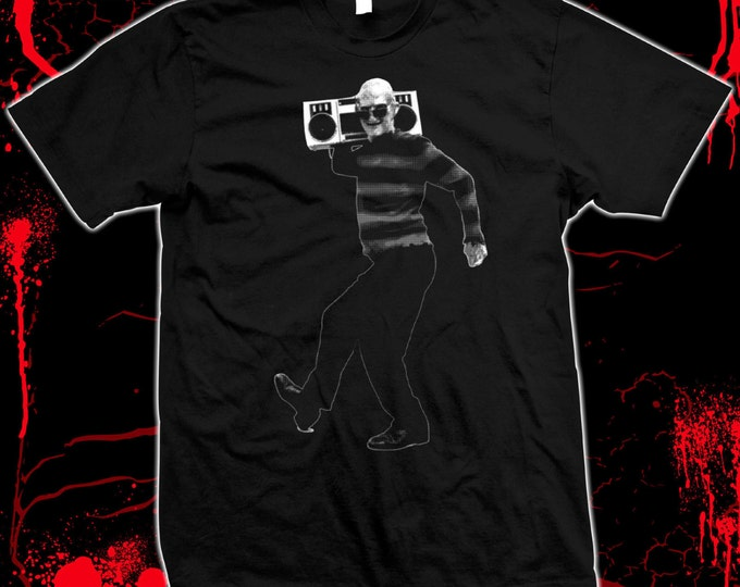Freddy Krueger - A Nightmare on Elm Street, Wes Craven, '80s horror - Hand screened, Pre-shrunk 100% cotton t-shirt