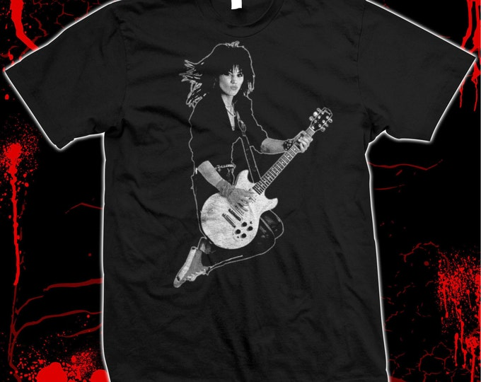Joan Jett - The Runaways - Blackhearts - Pre-shrunk, hand screened 100% cotton t-shirt