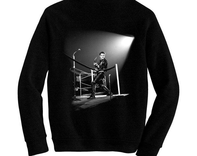 Eddie Cochran - Pre-shrunk, hand screened ultra soft 80/20 cotton/poly sweatshirt - Rockabilly