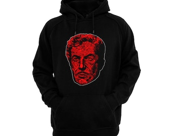 Vincent Price - Masque Of The Red Death - Hand silk-screened, pre-shrunk cotton blend pullover hoodie