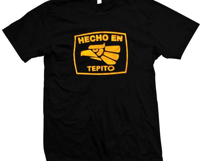 Hecho En Tepito - Pre-shrunk, hand screened 100% Cotton t-shirt - Ciudad de México