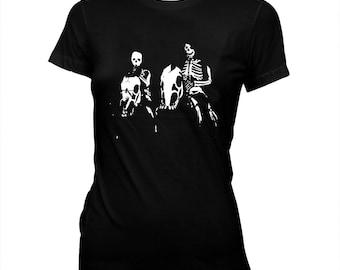 Night Creatures - Women's Pre-shrunk, hand screened 100% cotton t-shirt Misfits - Danzig - Captain Clegg