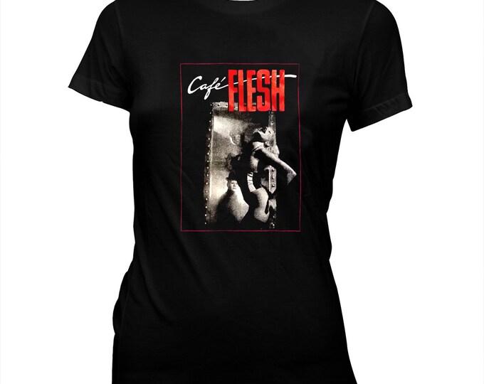 Café Flesh - Pre-shrunk, hand silk screened 100% cotton t-shirt - Rinse Dream