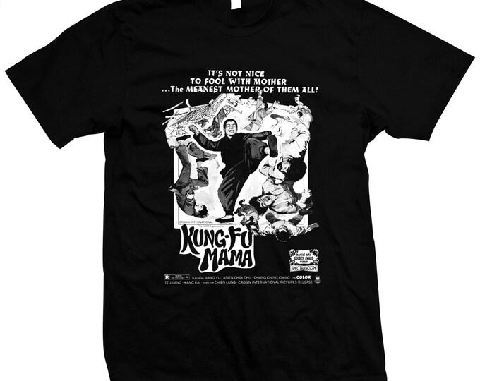 Kung Fu Mama (Shan dong lao niang) Pre-shrunk, hand screened 100% cotton t-shirt