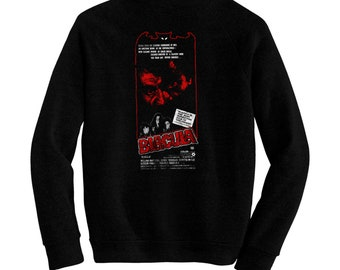 Blacula - Pre-shrunk, hand screened ultra soft 80/20 cotton/poly sweatshirt - William Marshall