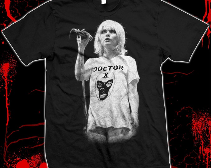 Blondie - Deborah Harry - Hand silk-screened, Pre-shrunk 100% cotton t-shirt