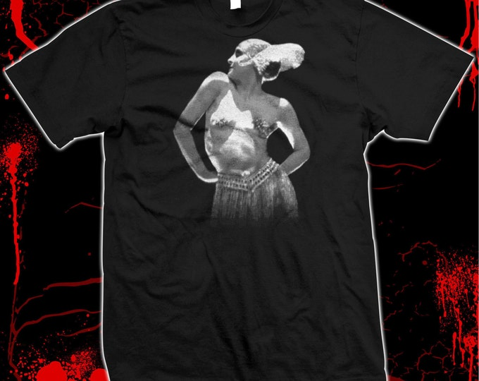 Metropolis - Brigitte Helm - Fritz Lang - Pre-shrunk, hand screened 100% cotton t-shirt