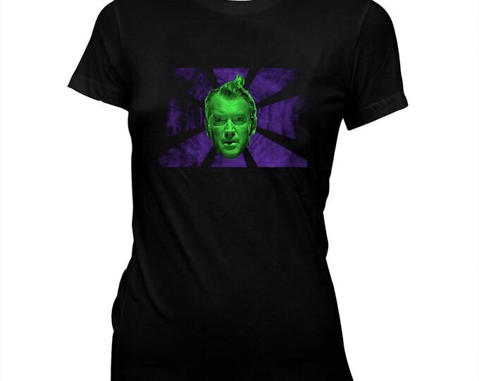 Vertigo - James Stewart - Alfred Hitchcock - Women's Pre-shrunk, hand screened 100% cotton t-shirt