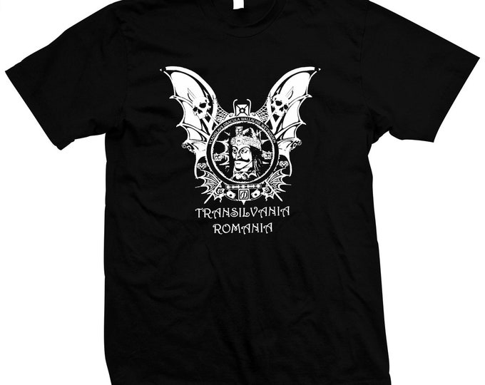 Vlad The Impaler - The Original Dracula - Hand Screened, Pre-shrunk 100% cotton t-shirt