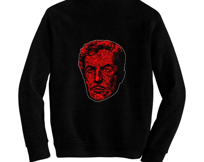 Masque of the Red Death - Vincent Price - Roger Corman - Pre-shrunk, hand silk screened ultra soft 80/20 black cotton/poly blend sweatsjort