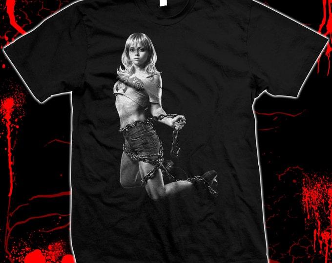 Black Snake Moan - Christina Ricci, exploitation movie, Hand screened, pre-shrunk 100% cotton t-shirt