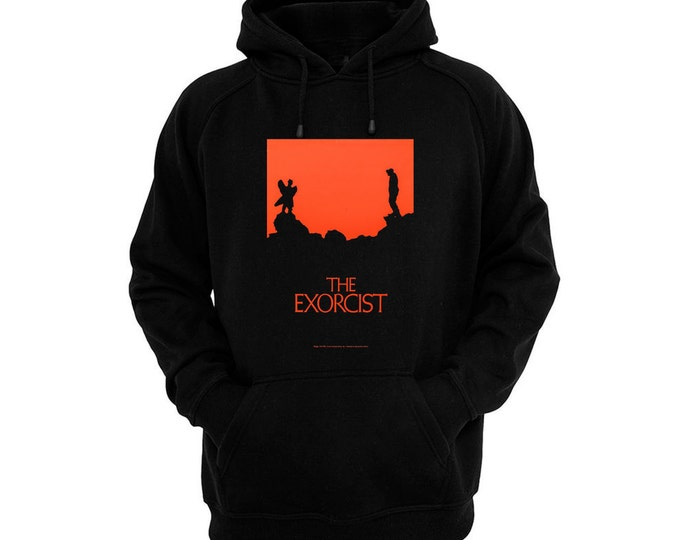 The Exorcist - Pazuzu - Hand silk-screened, pre-shrunk cotton blend pullover hoodie
