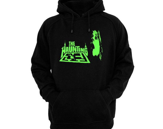 The Haunting (1963) - Hand silk-screened, pre-shrunk cotton blend pullover hoodie
