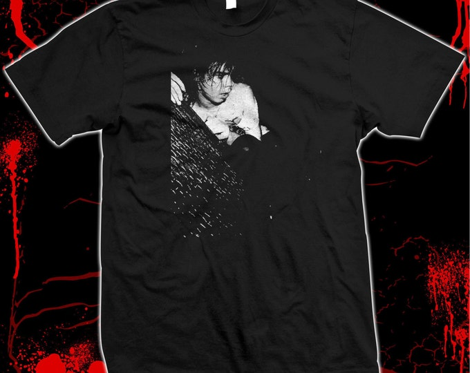 Nick Cave - Birthday Party - The Bad Seeds - Hand screened, Pre-shrunk 100% cotton t-shirt