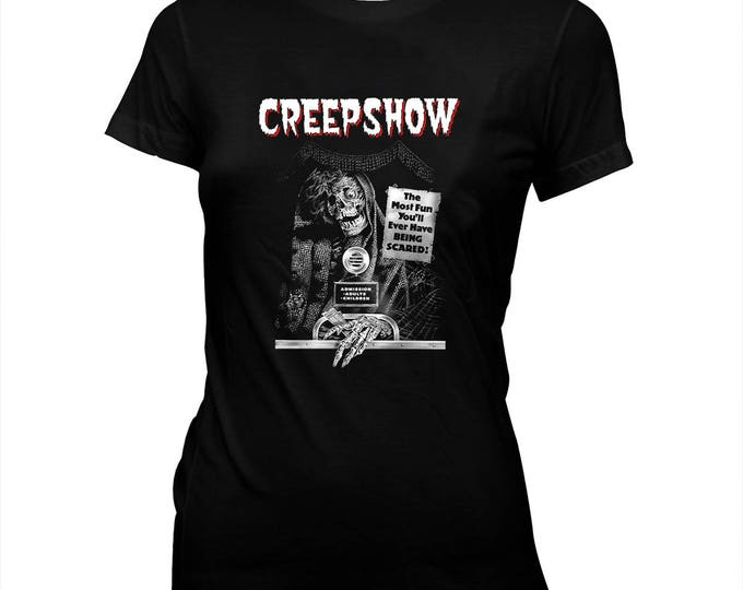 Creepshow - George A. Romero - Women's Hand Screened, Pre-Shrunk, 100% Cotton T-Shirt