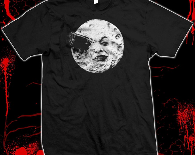 A Trip To The Moon - Georges Méliès - Hugo - Pre-shrunk 100% cotton t-shirt