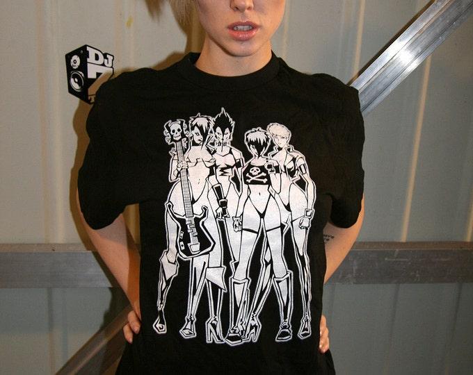 Misfits Walk Among Us / Jem - Hand Made 100% cotton silk screened tee shirt
