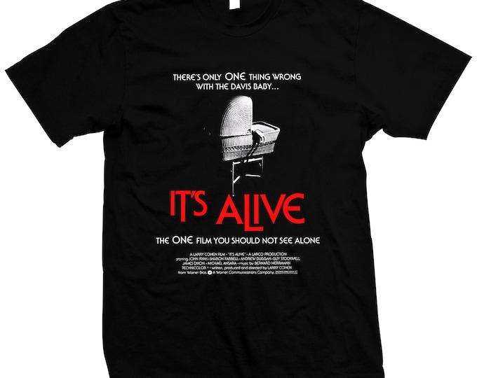 It's Alive - Larry Cohen - Hand screened, Pre-shrunk 100% cotton t-shirt