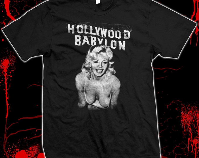 Hollywood Babylon - Kenneth Anger - Pre shrunk hand screened 100% cotton t-shirt